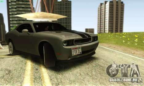 Dodge Challenger SRT-8 para GTA San Andreas vista direita