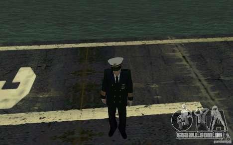 Admiral HD para GTA San Andreas segunda tela