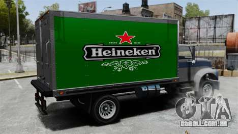 O novo anúncio para caminhão Yankee para GTA 4 vista interior