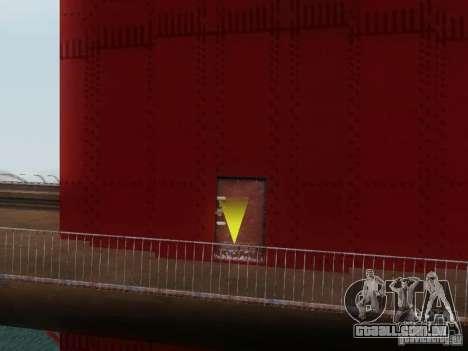 Subindo a ponte Golden Gate para GTA San Andreas terceira tela