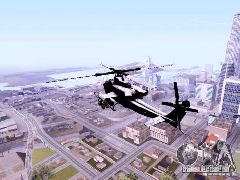 AH-1Z Viper para GTA San Andreas traseira esquerda vista