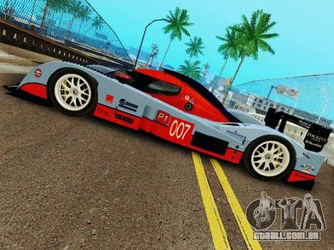 Aston Martin DBR1 Lola 007 para GTA San Andreas vista direita