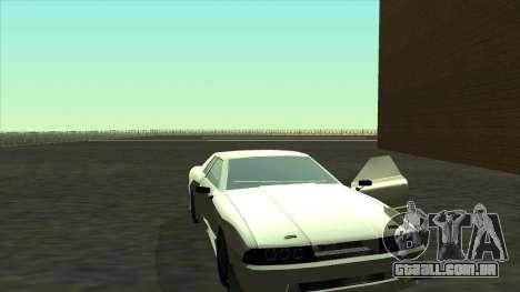 Elegy Roportuance para GTA San Andreas traseira esquerda vista