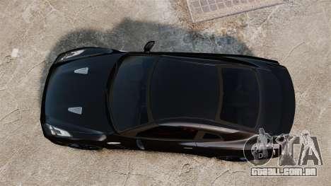 Nissan GT-R Black Edition (R35) 2012 para GTA 4 vista direita