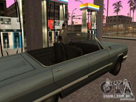 Posto ocupado em Los Santos para GTA San Andreas por diante tela