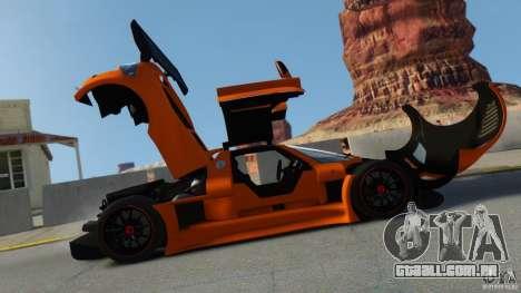 Gumpert Apollo Sport 2011 v2.0 para GTA 4 esquerda vista