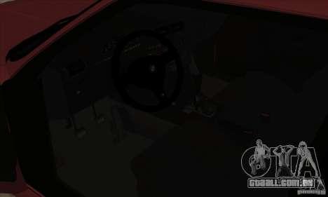 BMW M3 E30 1990 para GTA San Andreas vista traseira