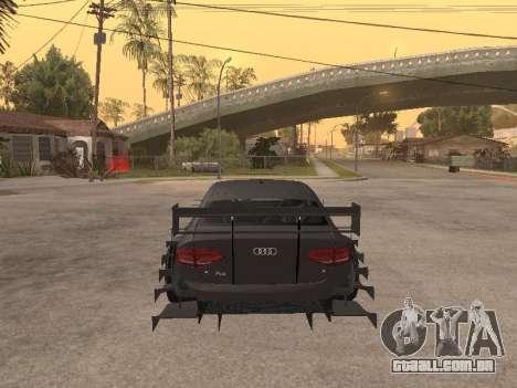 Audi A4 Touring para GTA San Andreas vista direita