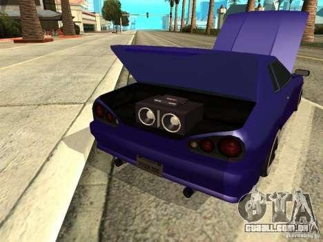Elegy by W1nston4iK para GTA San Andreas vista interior