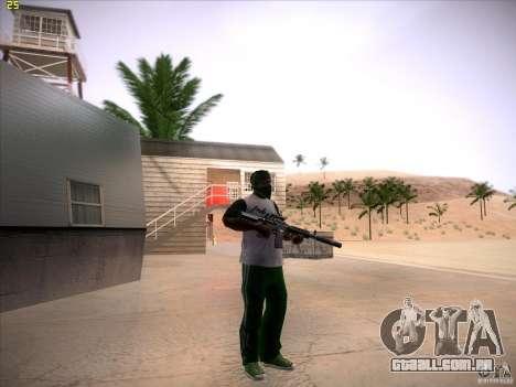 M4 Close Quarters Combat para GTA San Andreas por diante tela