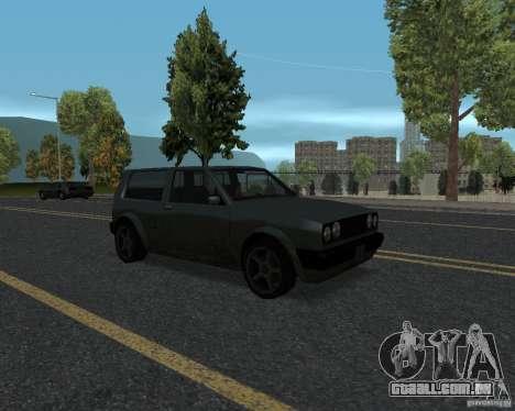 Novas texturas de estrada para GTA UNITED para GTA San Andreas quinto tela