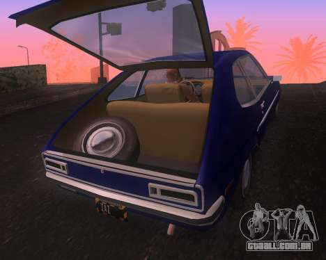 Ford Pinto 1973 Final para GTA San Andreas