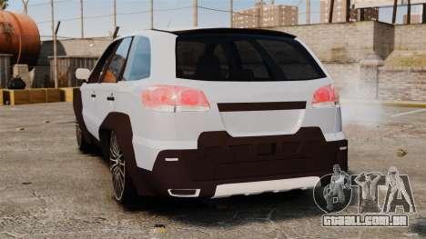 Fiat Palio Adventure Locker Evolution para GTA 4 traseira esquerda vista