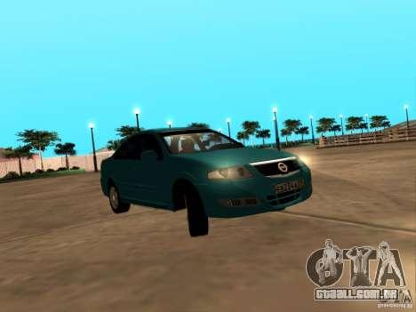 Nissan Almera Classic para GTA San Andreas traseira esquerda vista
