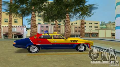 Ford Falcon 351 GT Interceptor para GTA Vice City vista direita