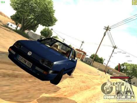 Volkswagen Golf MK3 Cabrio 1993 para GTA San Andreas esquerda vista