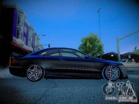 Mercedes-Benz CLK 55 AMG Coupe para GTA San Andreas vista interior