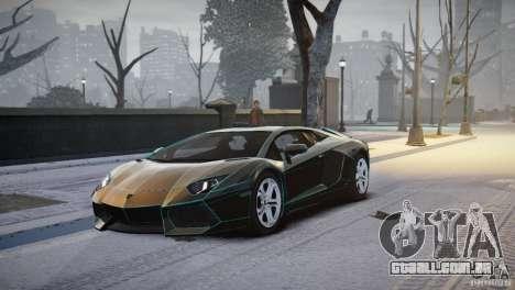 Lamborghini Aventador LP700-4 para GTA 4 esquerda vista