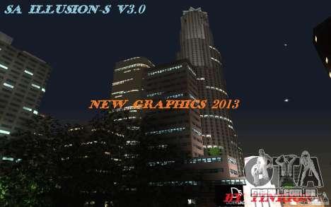 SA Illusion-S V3.0 para GTA San Andreas