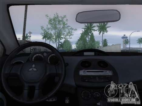Mitsubishi Eclipse GT V6 para GTA San Andreas interior