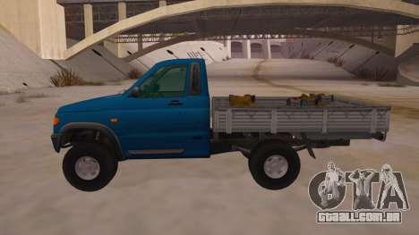 UAZ-2360 para GTA San Andreas esquerda vista