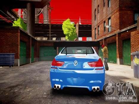 BMW M6 2013 para GTA 4 vista direita