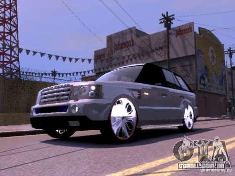 Range Rover DUB 2.0 para GTA 4 esquerda vista
