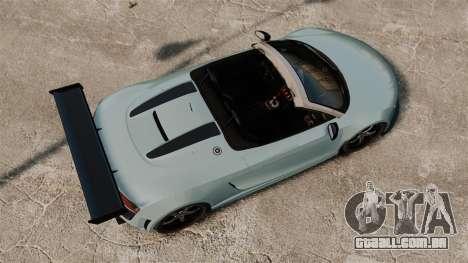 Audi R8 Spider Body Kit para GTA 4 vista direita