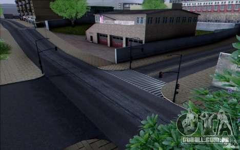 Estrada de HD v 3.0 para GTA San Andreas quinto tela