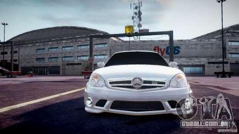 LADA Priora de 2170 AMG para GTA 4 vista de volta
