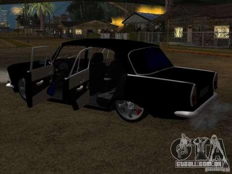 Estilo Extra Moskvitch 408 para GTA San Andreas vista traseira