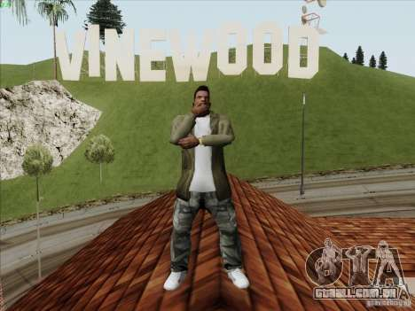 Gentleman Dance Animation para GTA San Andreas