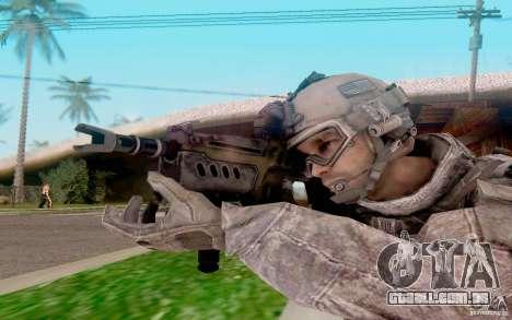 Tavor Ctar-21 de warface para GTA San Andreas