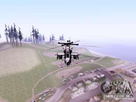 AH-1Z Viper para GTA San Andreas esquerda vista