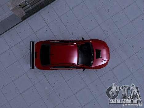 Mitsubishi Lancer Evolution X v2 Make Stance para vista lateral GTA San Andreas