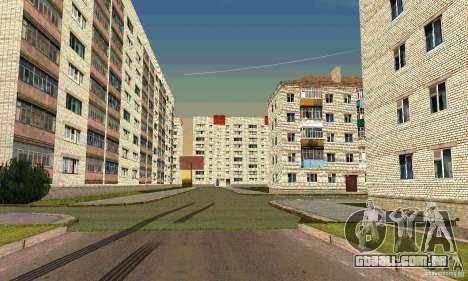 Arzamas v 0.1 para GTA San Andreas por diante tela