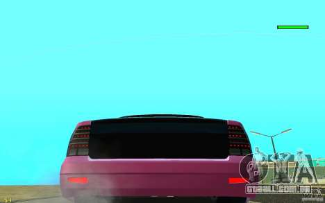 VAZ-2170 para GTA San Andreas vista interior