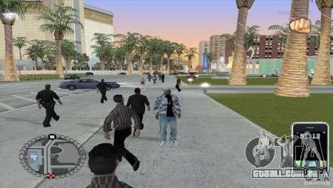 HUD ultra moderno para GTA San Andreas segunda tela