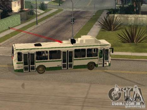 MTrZ 5279 para GTA San Andreas vista direita