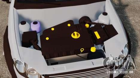 Fiat Palio Adventure Locker Evolution para GTA 4 vista interior