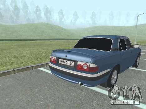 GAZ Volga 31105 para GTA San Andreas