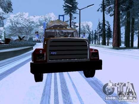 RTS 420 Šatalka para GTA San Andreas vista traseira