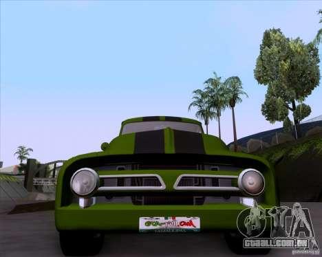 Ford FR-100 2003 para GTA San Andreas vista traseira