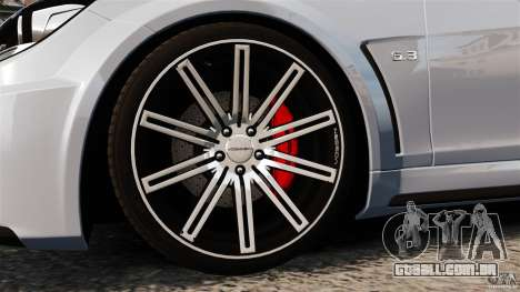 Mercedes-Benz C 63 AMG para GTA 4 vista lateral