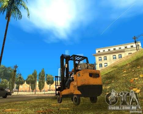 Carregador do COD MW 2 para GTA San Andreas esquerda vista