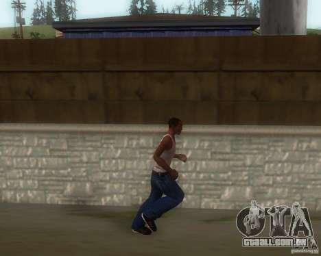 GTA IV Animations v1.1 para GTA San Andreas terceira tela