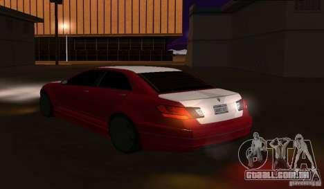 Schafter de GTA EFLC para GTA San Andreas esquerda vista