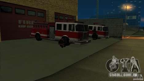 Estação de fogo de avivamento em San Fierro v 2. para GTA San Andreas segunda tela
