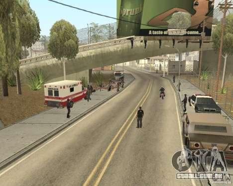 Cena do crime (cena do Crime) para GTA San Andreas segunda tela