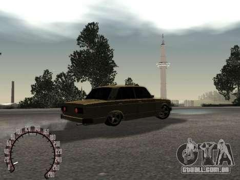 Ouro de 2105 VAZ para GTA San Andreas